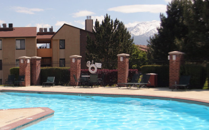 Pool at ogden ut apartments for rent