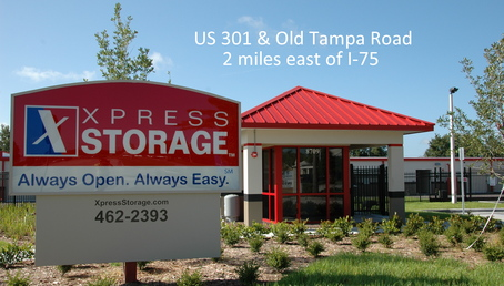 Xpress Storage Parrish Sign