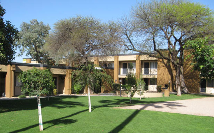 Apartment rentals in Tuscon have beautiful exteriors
