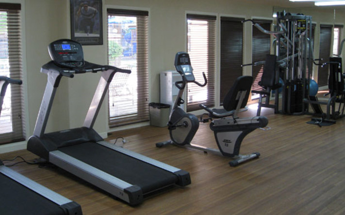 Tucson apartments have a fitness center for you to work out in