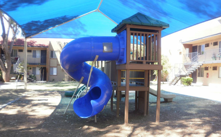 Let your kids play on the Tucson apartments playground