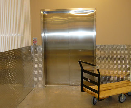 Elevator access for renton self storage
