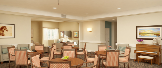 Meadowbrook memory care rendering