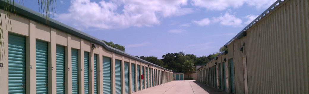 Self storage in new smyrna beach wide driveways