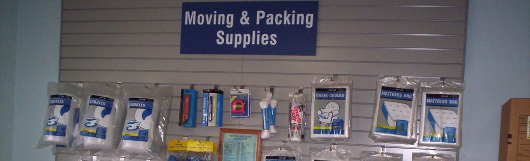 Self storage in Orlando sells packing supplies