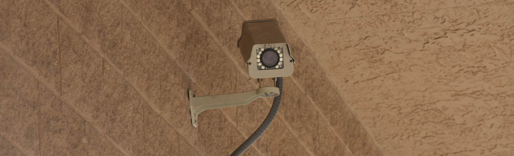Self storage in Trinity has security cameras