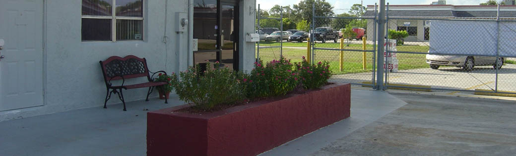 Self storage in Port St. Lucie plants