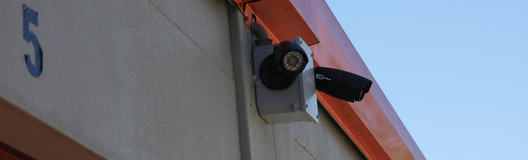 Security cameras protect self storage in Odessa