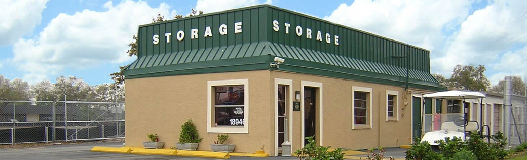 Self storage in Clearwater office exterior