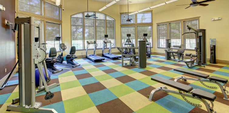 High endurance fitness center