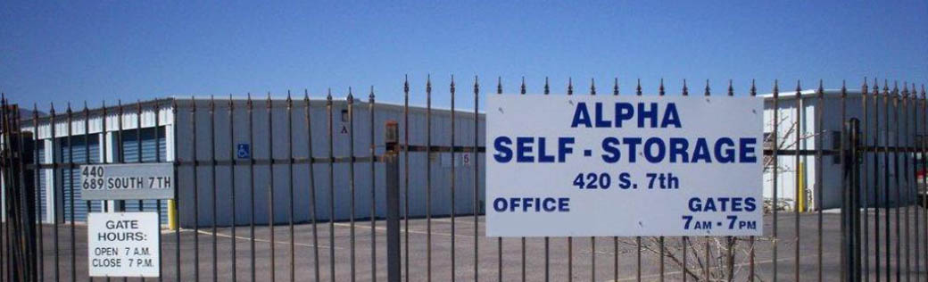 Welcome to self storage in Cottonwood, AZ