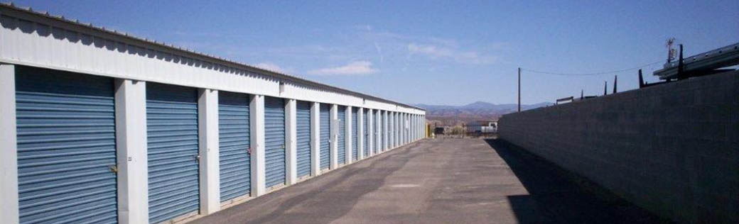 Storage units in Cottonwood are safe and secure.