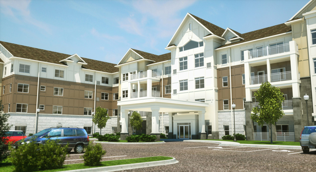 Exterior view of our senior living in Rochester, MN