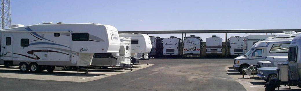 RV storage is available in Green Valley