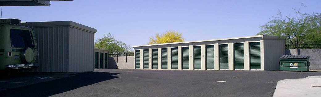 Green Valley self storage includes small and large units.