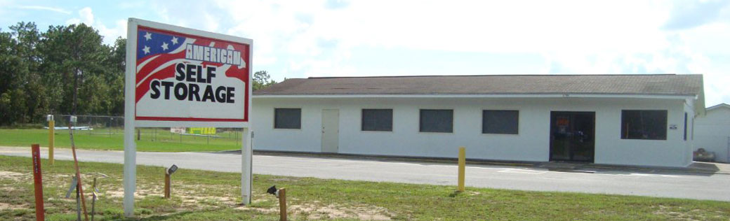 Welcoming office featured at Defuniak Springs self storage