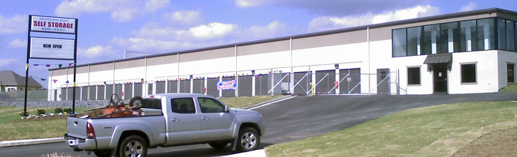 Inviting entry featured at Gardendale self storage