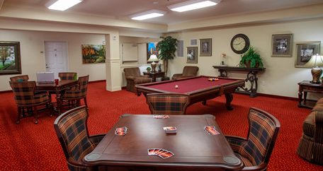 Game room goodyear az retirement living