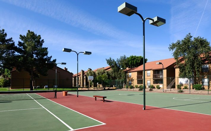 Amenity courts