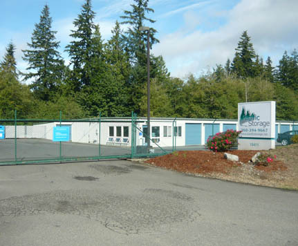 Poulsbo wa self storage exterior