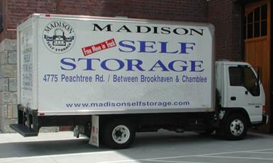 Atlanta truck Madison Self Storage