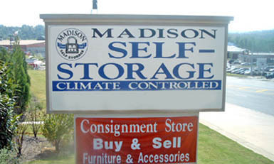 Woodstock gasign Madison Self Storage