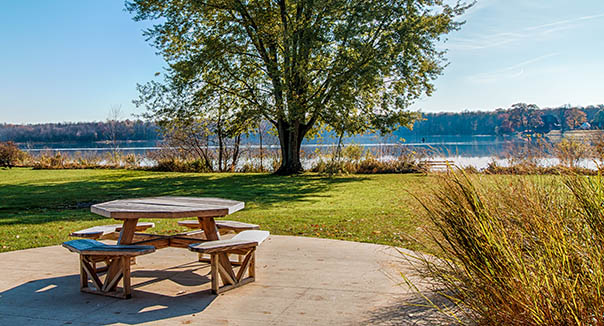 Enjoy a picnic at senior living in chardon