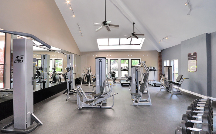 Amenities fitness center