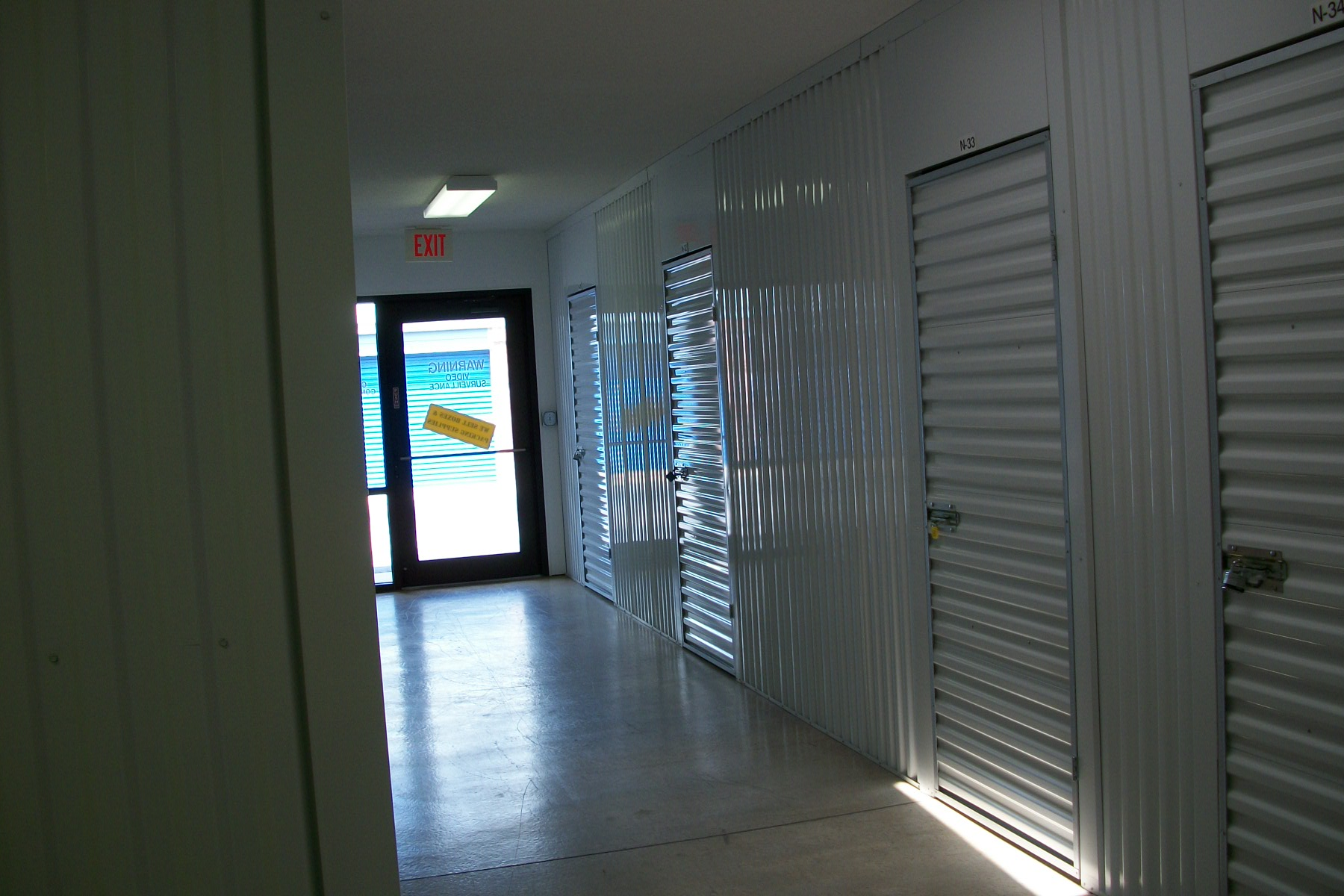 back door inside secure Security Self Storage