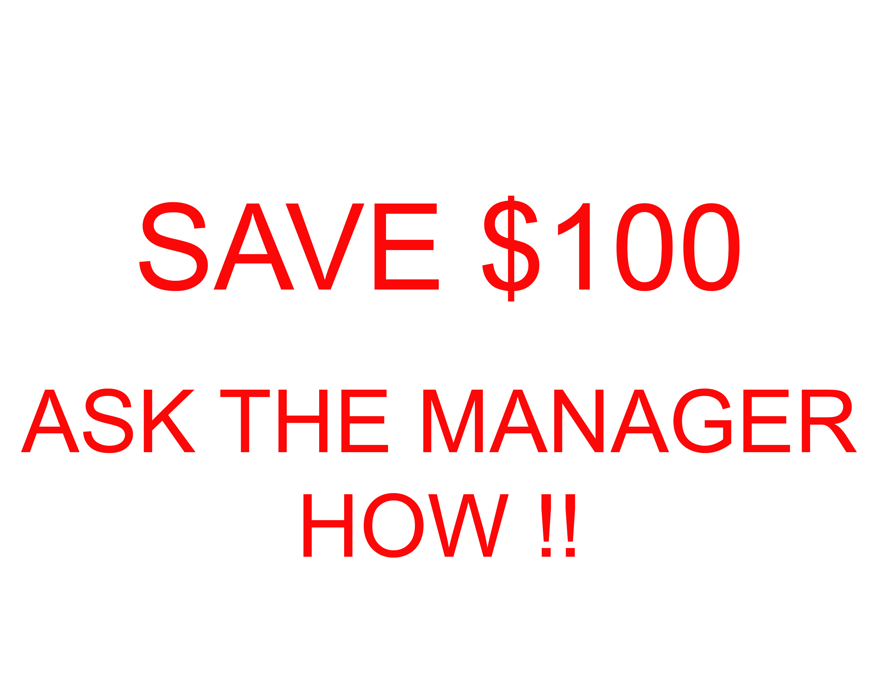 save 100 special Security Self Storage