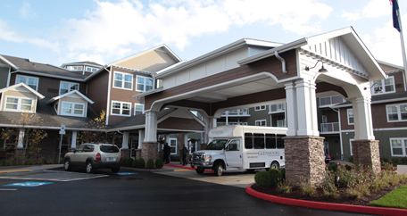 Glenmoore entrance happy valley retirement living
