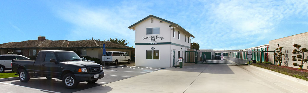 Entrance for salinas self storage