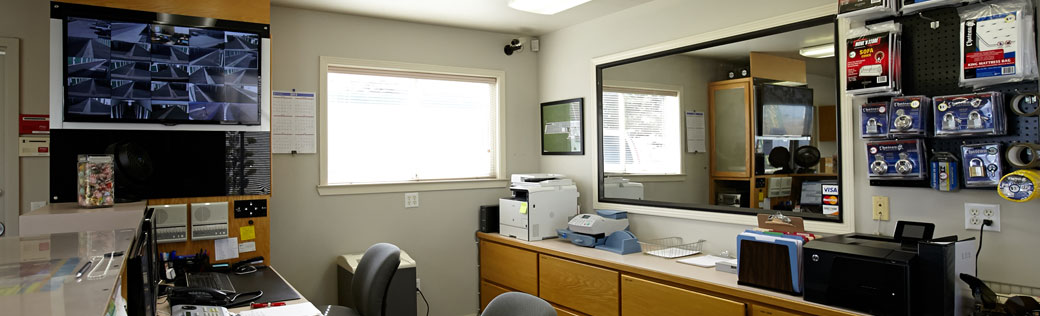 Office at salinas self storage