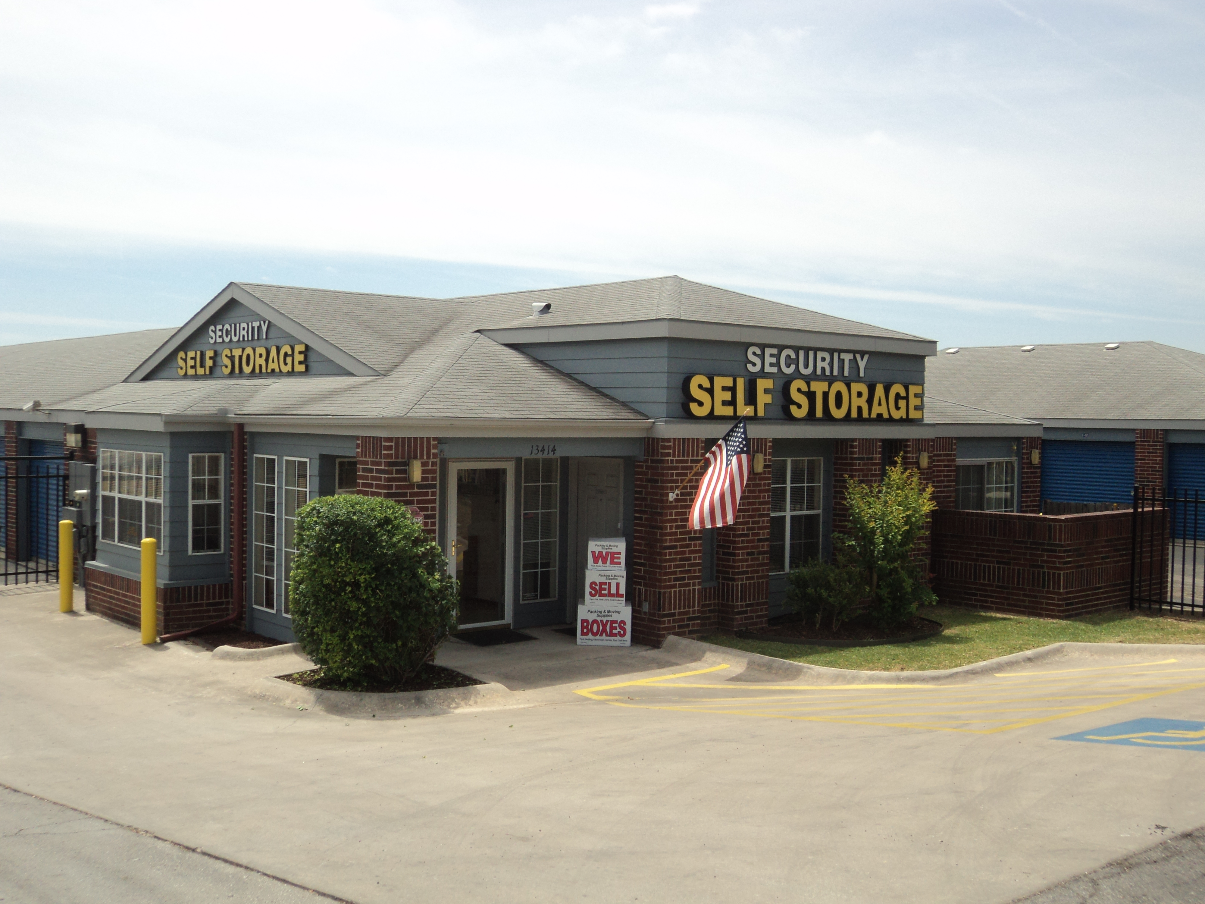 front entrance facility west avenue Security Self Storage