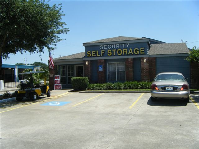 Dairy ashford parking lot car front entrance Security Self Storage