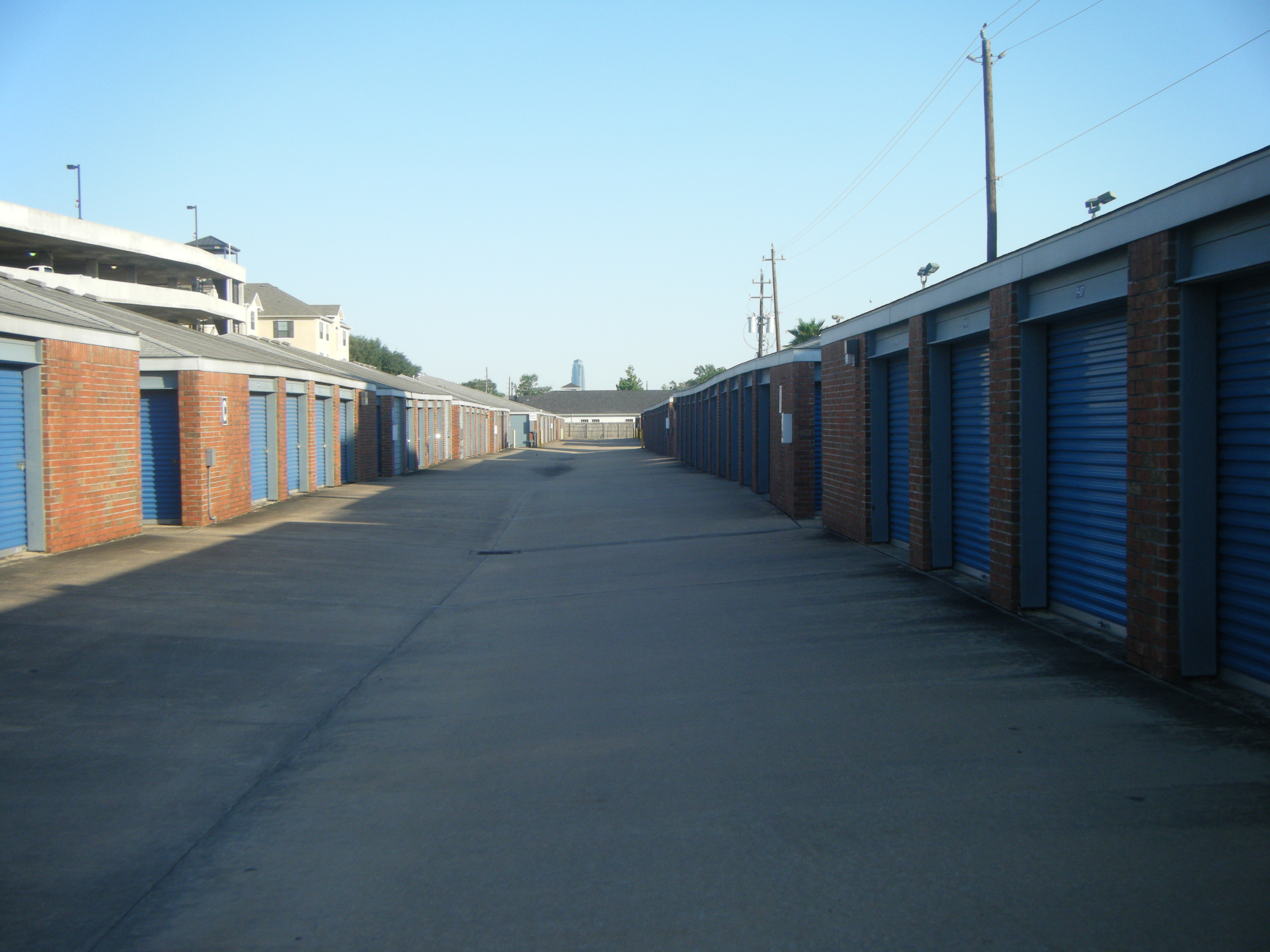 outdoor locking doors Security Self Storage