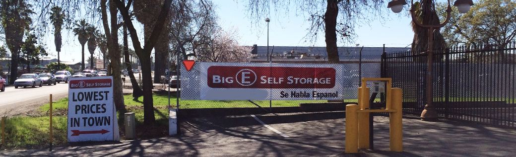 Banner for stockton self storage